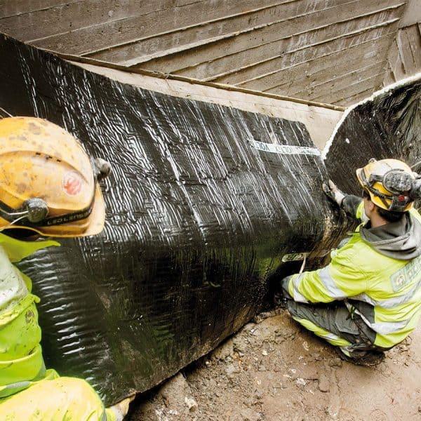 Vaativaa vedenpaine-eristystä Länsimetron asemilla